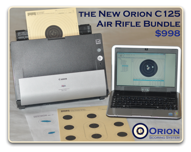 Orion C125 Air Rifle Bundle