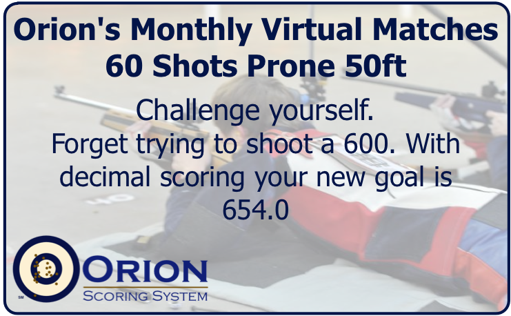 Orion's Series of Virtual Matches: 50ft Prone