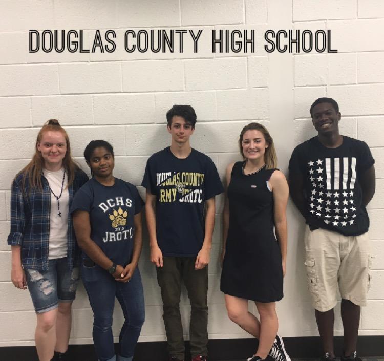 Douglas County AJROTC (3 - 0) 1240 defeats Glynn Academy MCJROTC (0 - 3) DNS